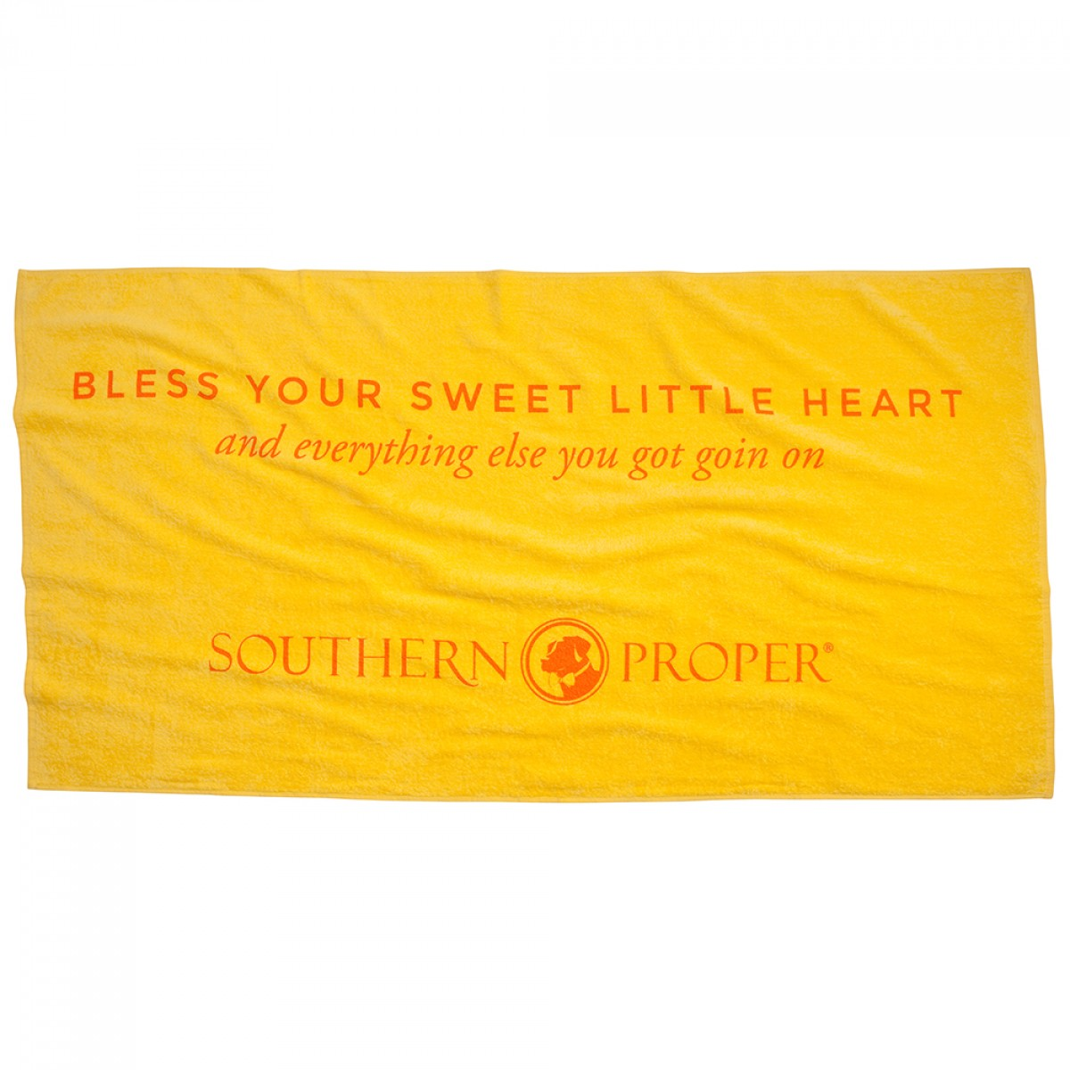Bless Your Sweet Little Heart Beach Towel